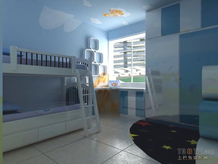 后现代风格儿童房装修效果图