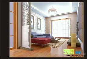 现代简中式书房设计