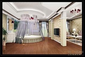 豪华古典欧式客厅设计装潢