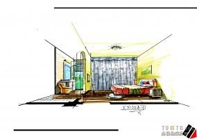 现代简约美式别墅设计
