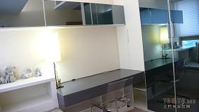 现代化120平三室两厅效果图
