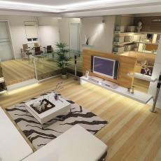 现代风格调三居设计