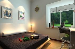 温馨正方形客厅吊顶效果图