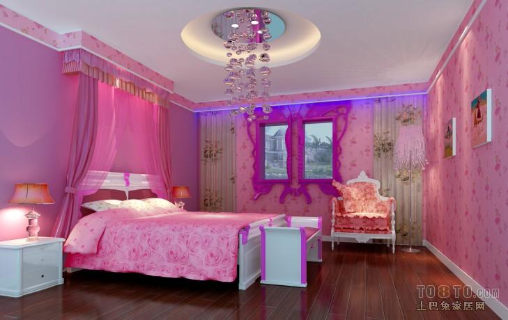 卧室装修效果图列表 所属案例:欧式现代