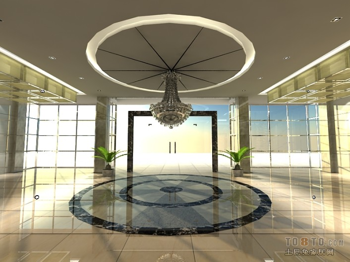 1F大厅04办公空间其他设计图片赏析