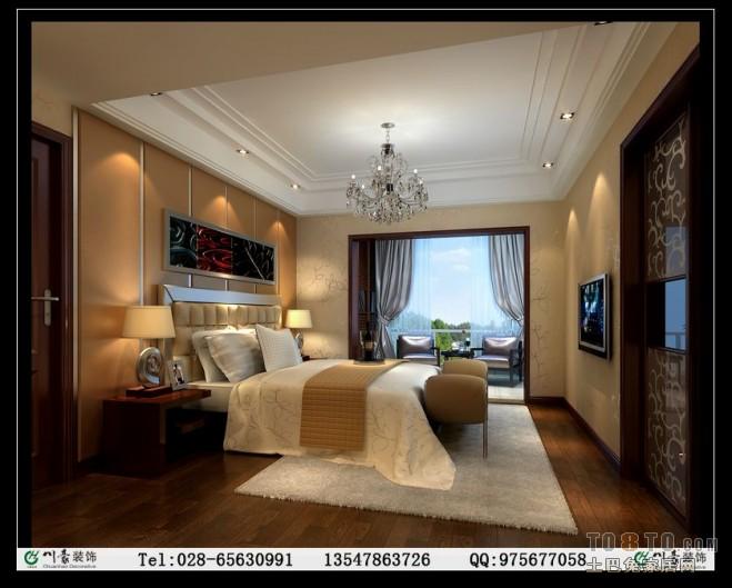 碧华邻-欧式现代卧室装修效果图
