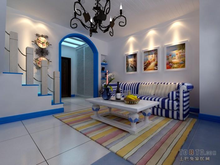 优雅44平混搭复式客厅实拍图客厅潮流混搭客厅设计图片赏析