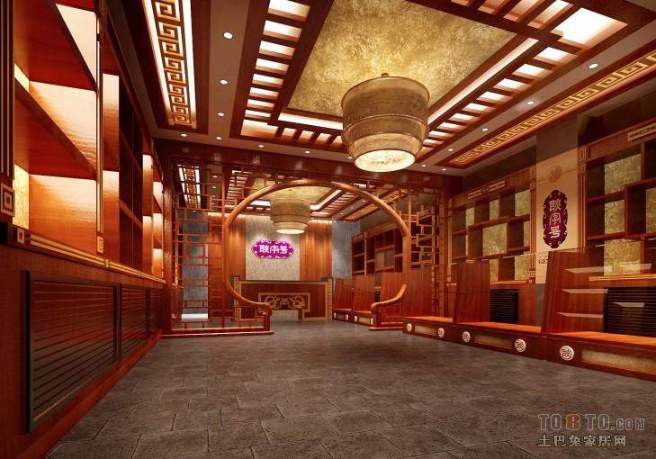 庄河室内效果定稿A购物空间其他设计图片赏析