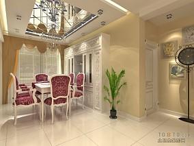 热门100平米三居客厅混搭装修效果图片欣赏