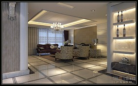 木纹砖地板装修设计