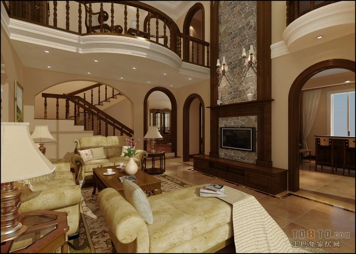 美式别墅设计 美式风格装修效果图