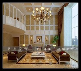 现代极简日式客厅设计