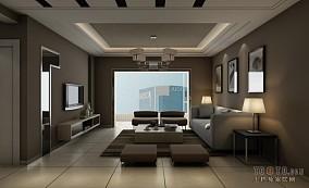 时尚简约酒店卧房图片