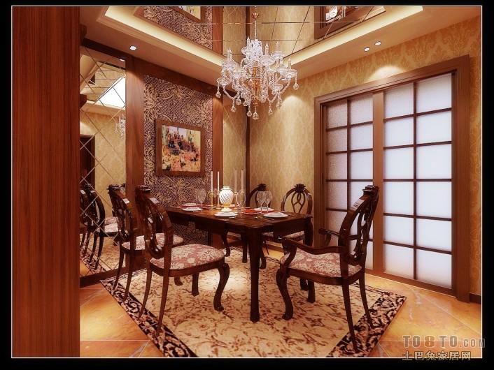 欧式古典客厅装修效果图