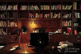 精选书房木地板装修效果图