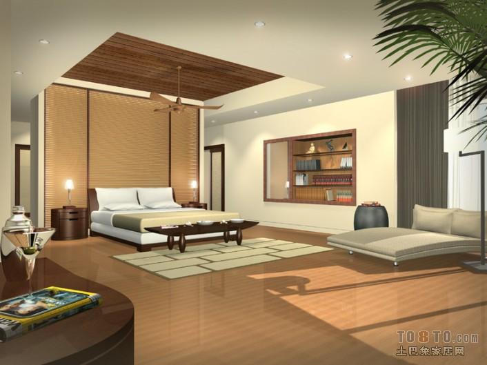 君濠国际-中式现代客厅装修效果图图片