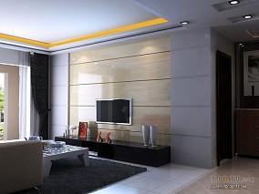 热门103平米3室客厅混搭装修设计效果图片欣赏