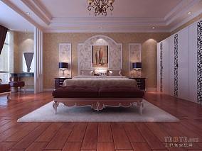 复古风格室内卧室图片