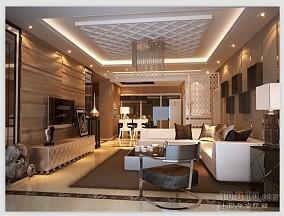 精选混搭3室客厅装修设计效果图片大全98平