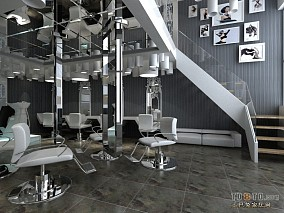 个性美发店装修