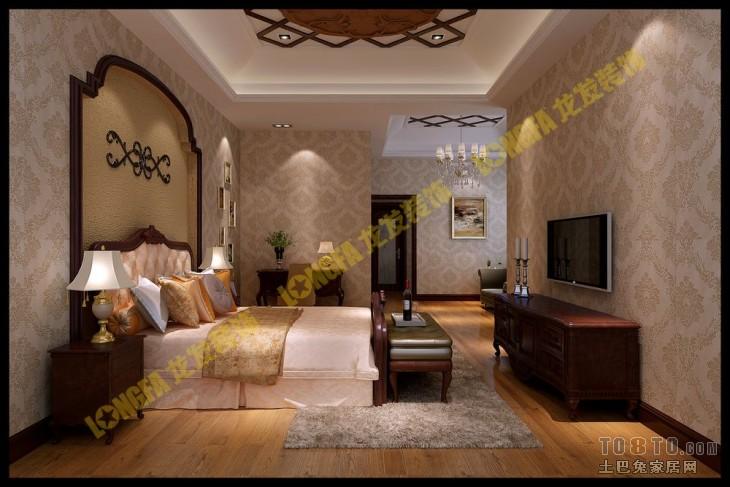 欧式古典卧室装修效果图