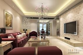 现代简约风格日式客厅