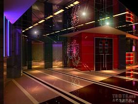 酒吧KTV电梯厅装修效果图