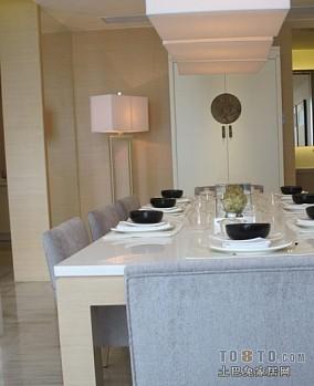 2018面积78平混搭二居餐厅效果图