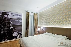 现代简约卧室软包