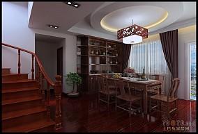 质朴loft北欧风格餐厅设计效果图