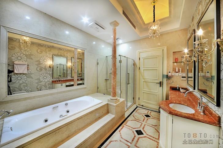 欧式现代卫生间装修效果图图片