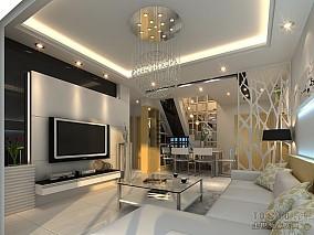 时尚90平米新房样板房图片