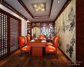 日式榻榻米餐厅装修效果图