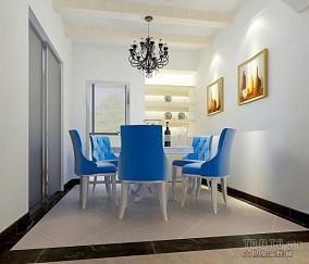 精选地中海三居餐厅装修欣赏图