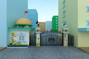 幼儿园学校大门设计