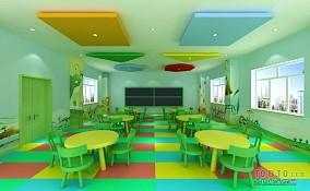 幼儿园教室布置效果图欣赏设计图片赏析