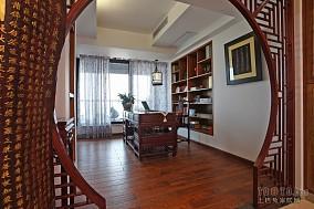 2013书房木地板装修效果图