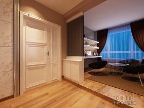 精美109平米3室客厅混搭实景图片欣赏