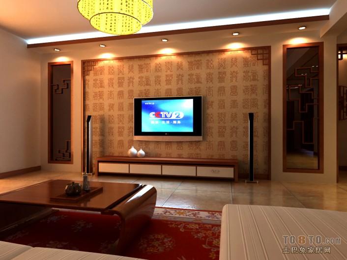 1影视墙【单张】-客厅装修效果图-土巴兔装修效果图图片
