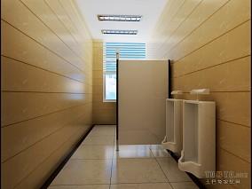 中式办公室卫生间装修效果图