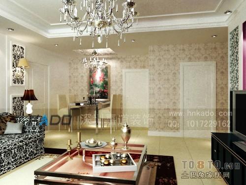 欧式低调奢华风格家庭装修