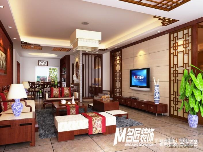 东方名城92 四室二厅二卫装修案例效果图 155平米设计高清图片