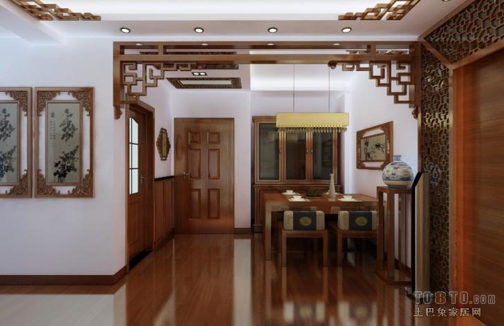 中式古典客厅装修效果图图片