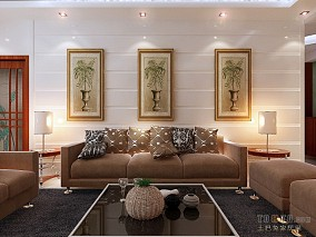 简单63平米两室一厅装修图