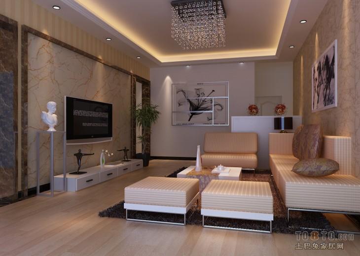 拓者现代客厅效果图高清图片
