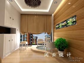 热门96平米三居花园混搭装修图片欣赏
