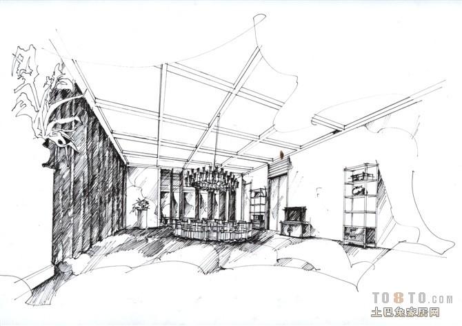 走廊餐厅吊顶效果图厨房潮流混搭餐厅设计图片赏析