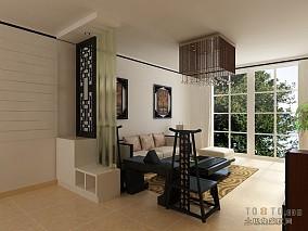 热门120平方四居客厅混搭装饰图片欣赏