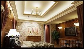 120三室两厅主卧装修