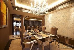 2018精选面积118平混搭四居餐厅装饰图片